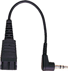 GN Netcom - Jabra 2.5mm Adapter cable, 1005143, 8800-00-46 | 6 inch cable length