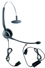 Jabra 2120 Headset with Ergo Smart Cord