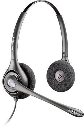 Plantronics HW261N | SupraPlus Headset Noise-canceling Duo, 64339-31