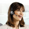 Business women using Jabra GN9450