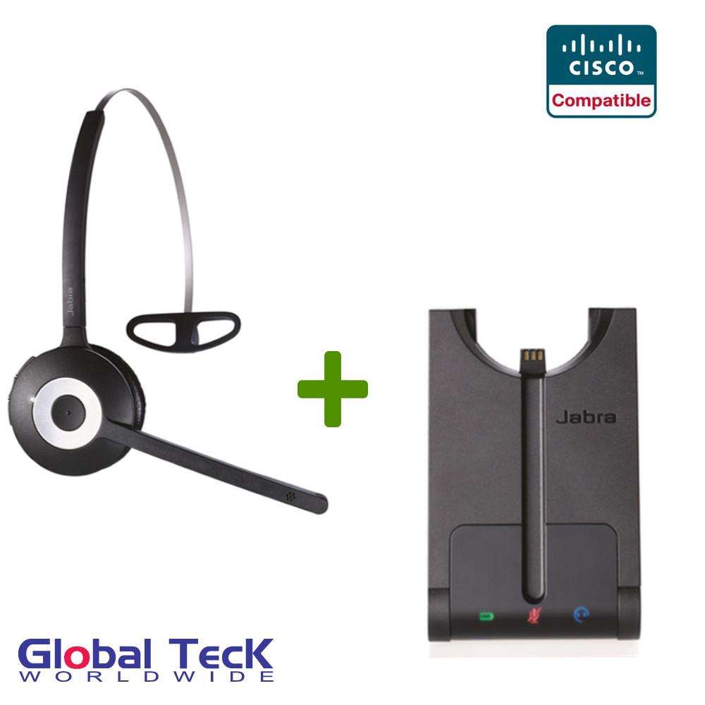 Cisco compatible Jabra PRO 920 Wireless Headset System, 920-65-508-105| For  Cisco phones: 7932g, 7931, 7942g, 7945g, 7960g, 7965g, 7971g, 7975g, 7985g