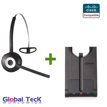 Cisco compatible Jabra PRO 920 Wireless Headset System, 920-65-508-105
