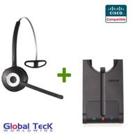 Cisco compatible Jabra PRO 920 Wireless Headset System, 920-65-508-105