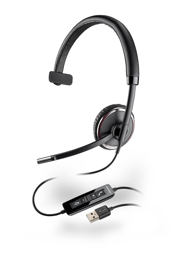 66e6758624e Plantronics C510-M USB Headsets, Microsoft Optimized for Lync, OCS ...
