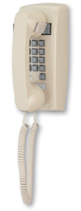 Cortelco Wall phone with Indicator and Flash button | 2554 VBA 27F (Ash) Flash/Message Indicator Phone