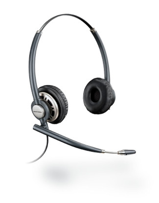 Plantronics Encore PRO Duo Wideband Headset, HW301N