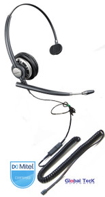 Mitel Compatible | Plantronics Encore PRO | Direct Connect Mono Wideband Headset, HW291N #MTL 78712-01
