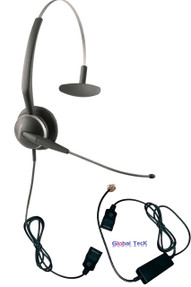 NEC compatible Jabra 2110 with Ergonomic Telephone Interface Cord