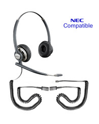 NEC Compatible Plantronics Encore PRO Duo Wideband Headset, HW301N | Direct Connect