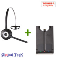 Toshiba Compatible Jabra PRO 920 Wireless Headset System, 920-65-508-105