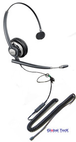Toshiba compatible Plantronics Encore PRO Direct Connect Mono Wideband Headset | HW291N (HW710) #PLT 78712-01-DC