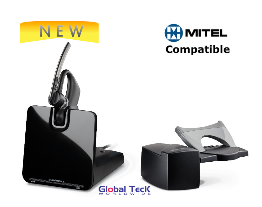 Mitel compatible Wireless headsets - These Plantronics and