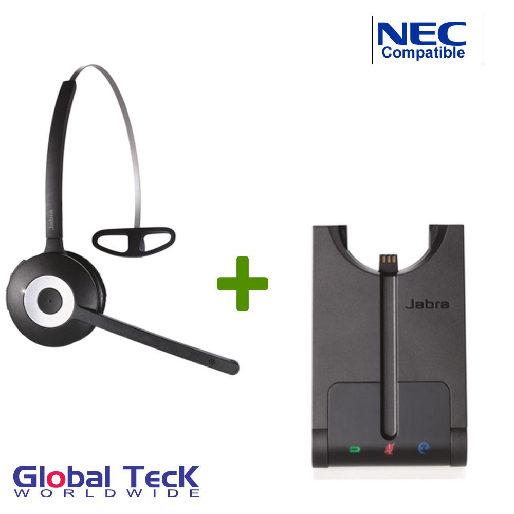 NEC Compatible Jabra PRO 920 Wireless Headset System, 920-65-508-105 | NEC  IP Phones - Console, Elite, Mark, Dterm, ITL, DT300, DT700