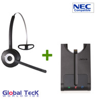 NEC Compatible Plantronics Cordless Headset Bundle -CS540 EHS with