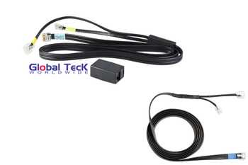Aastra DHSG Cable Bundle for Wireless Headsets | Use with Jabra, GN Wireless Headsets | Jabra Link EHS Cable included