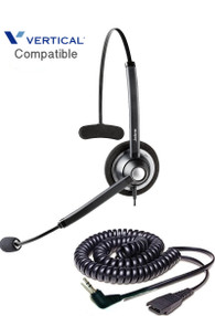Comdial Vertical Compatible Plantronics Wireless Headset