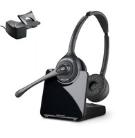 Plantronics CS520 Bundle | Remote Answering included | #84692-01-B Duo Wireless Headset