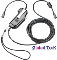 Plantronics USB Push-to-Talk (PTT) Adapter Switchbox | PC Softphone, VoiP, Defense, Gov, IP communications | SHS 2355-01