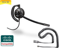 Plantronics ENCOREPRO 530 (HW530) Direct Connect for Cisco phones |  7931G, 7940, 7941G, 7942G, 7945G, 7960, 7961, 7961G, 7962G, 7965G, 7970, 7971,7971G, 7975, 7975G and other models with RJ-9 headset port