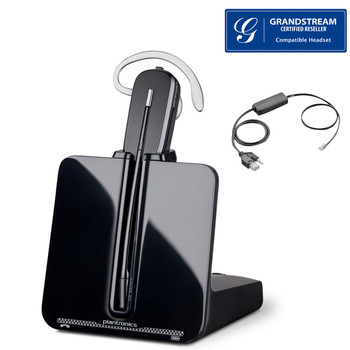 Grandstream compatible Plantronics CS530 EHS Bundle | Includes Electronic Remote Answerer | Grandstream Phones: GXP2130, GXP2140, GXP2160 , 86305-11 -BEHS