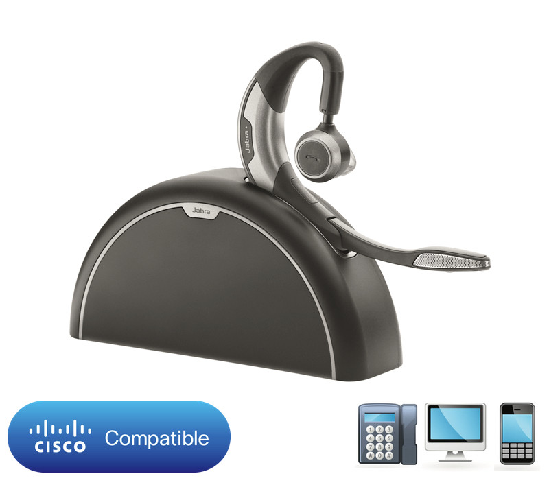 Cisco Certified JABRA MOTION UC+ WITH TRAVEL & CHARGE KIT | Bluetooth  Headset | Cisco Bluetooth Phones: 7925G, 8945, 9951, 9971, CIUS, Jabber,  Webex,
