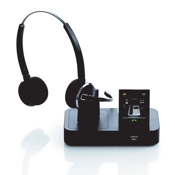 Jabra 9460 Duo Wireless Headset System | Headset and Base