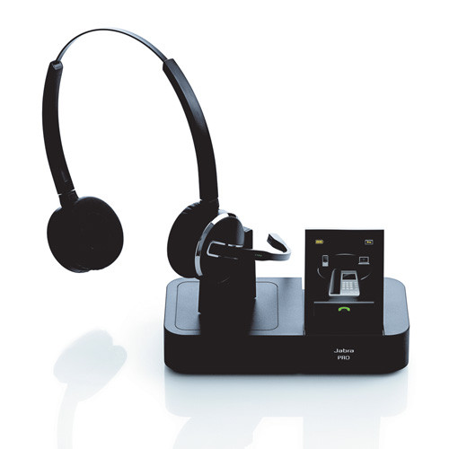 c6a9973ea2b Jabra PRO 9465 Wireless Headset with Touch Screen Base, multi-use ...