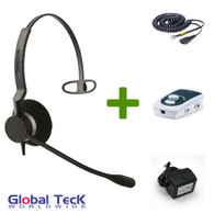 UA45 Bundle with Power Adapter and BIZ2320 Mono Direct Connect Headset