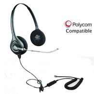 Polycom compatible Plantronics Headset
