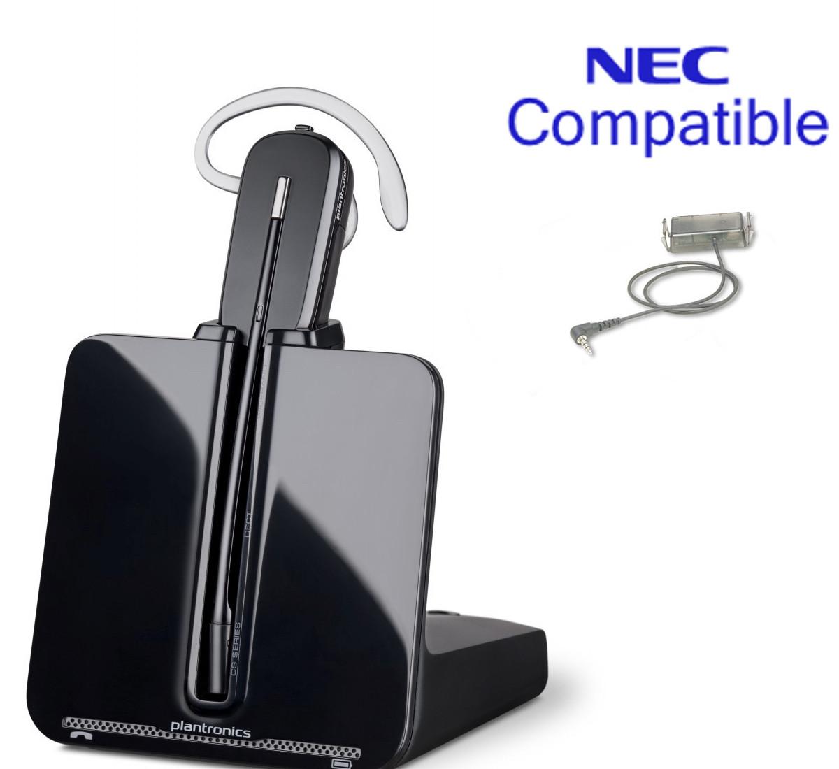 cs540_nec_compatible_sl1100_dsx34b_bundle__90516.1428386660.1280.1280?c=2 nec compatible plantronics cordless headset bundle cs540 ehs with nec sl1100 wiring diagram at mifinder.co