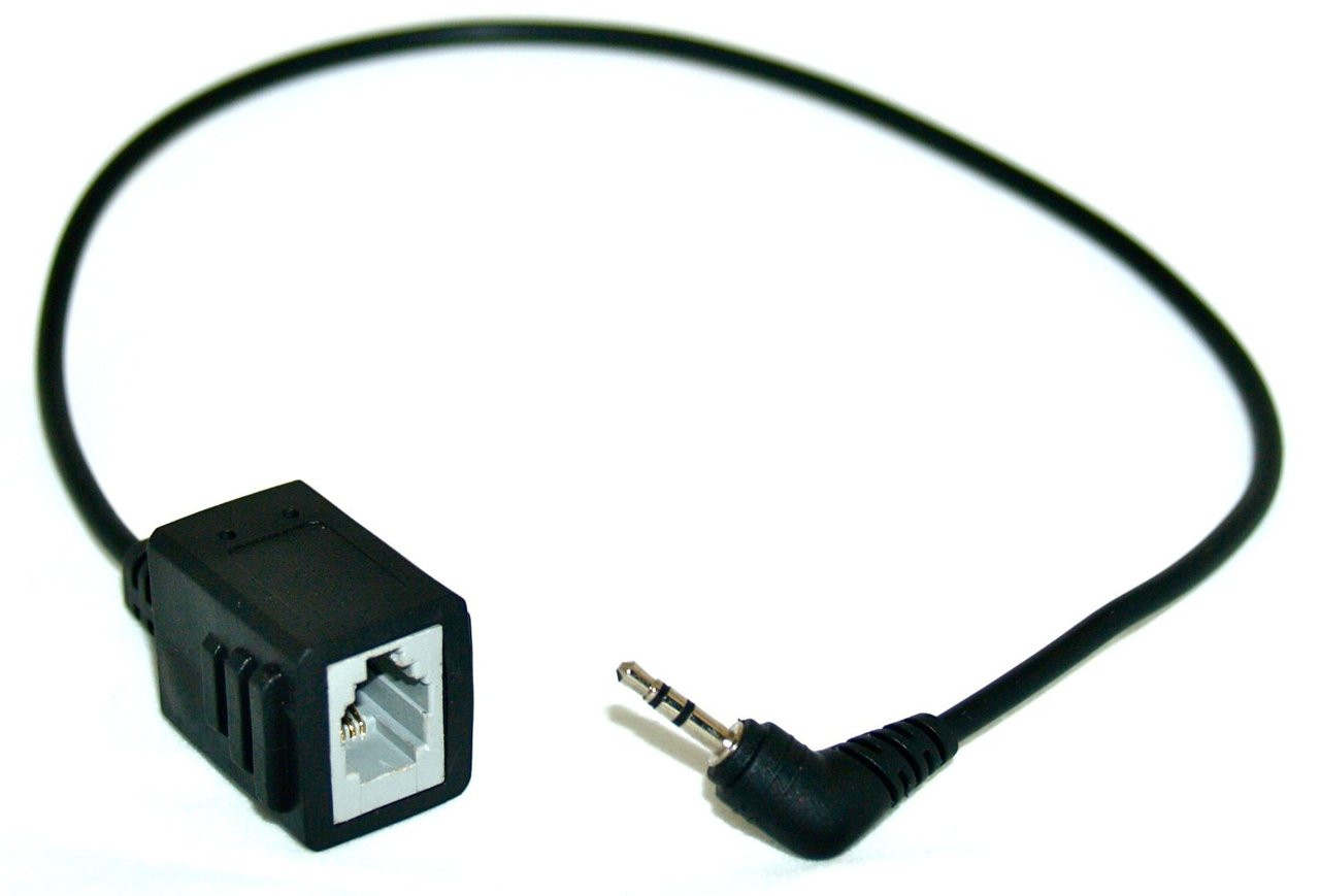Converter Adapter | Converts RJ-9 to 2 5mm for phones that have a 2 5mm  jack  | LTG-RJ-925
