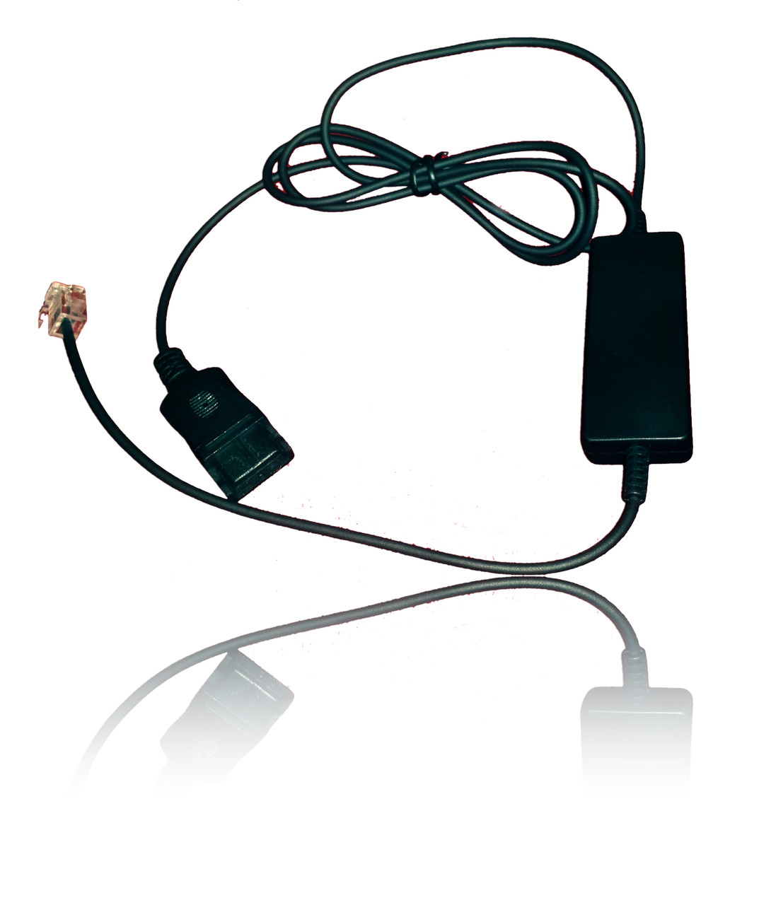 Intelligent Cord (4ft) for Plantronics Headsets | 10 pack special |  Compatible with Mitel, NEC, Aastra, Nortel, Shortel, Allworx, Cisco