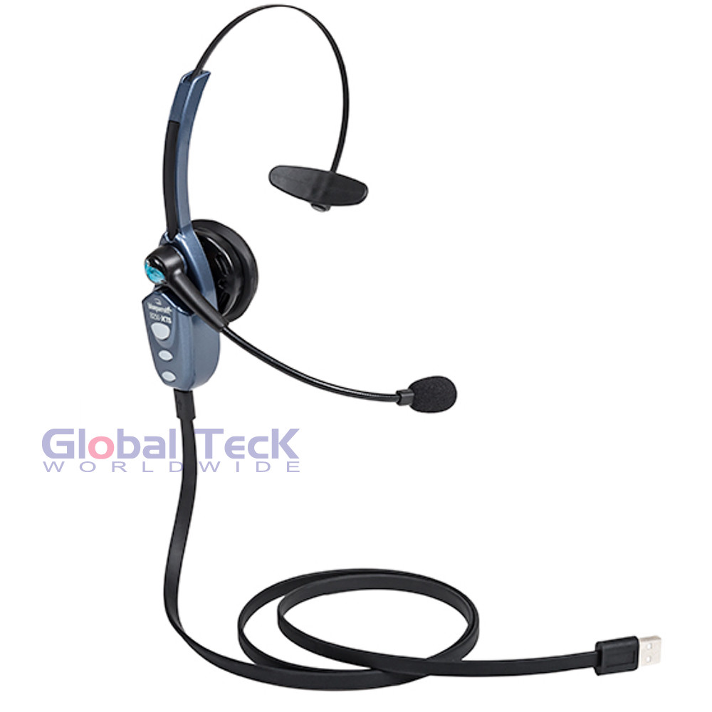 f1d479e5ad6 BlueParrott B250-XTS Bluetooth Headset | Includes USB Cable - | Wall ...