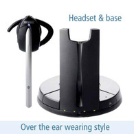 Jabra 9330e headset and base