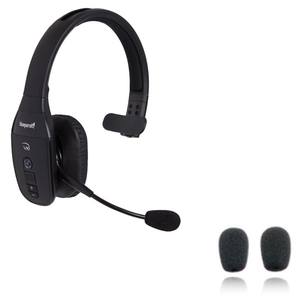 fcbc6c0a656 VXi BlueParrott B450-XT Bluetooth Headset Bundle   Includes Car ...