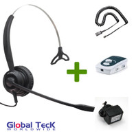 UA45 Bundle with Power Adapter and XS 820 Mono Direct Connect Headset