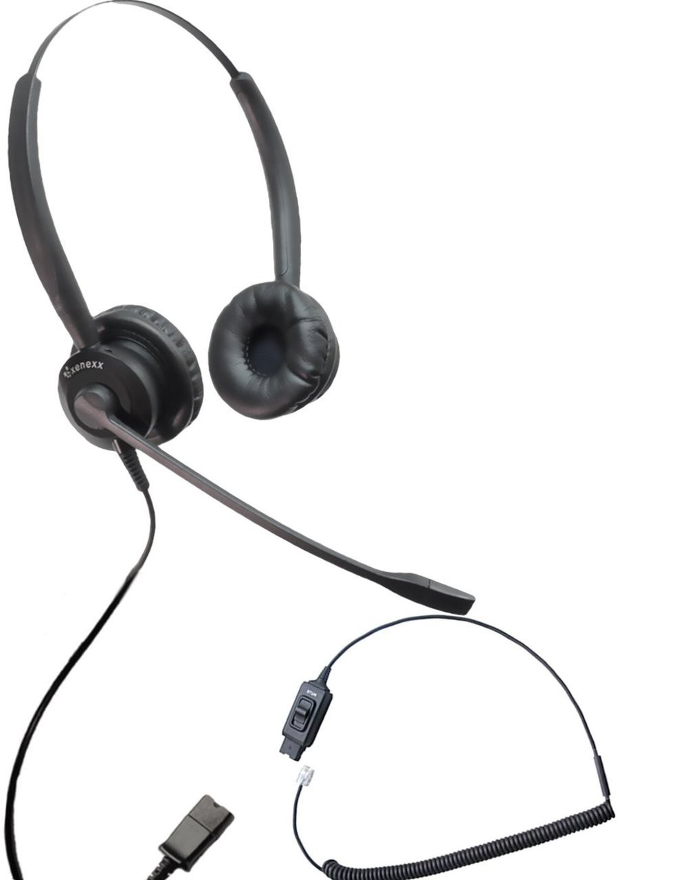 1ab285bf33a Avaya Compatible XS 825 Ultra Noise Canceling Headset with Mute ...