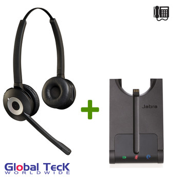 Jabra PRO 920 Duo Wireless Headset System for Telephones, 920-69-508-105