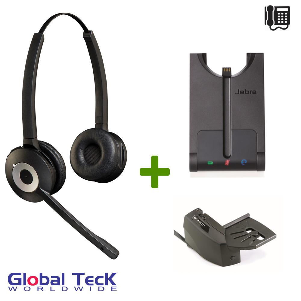 a0fe5254585 Jabra PRO Duo 920 Bundle Wireless Headset System, 920-69-508-105