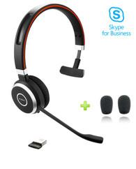 Jabra Evolve 65 Bluetooth Headset USB Bundle