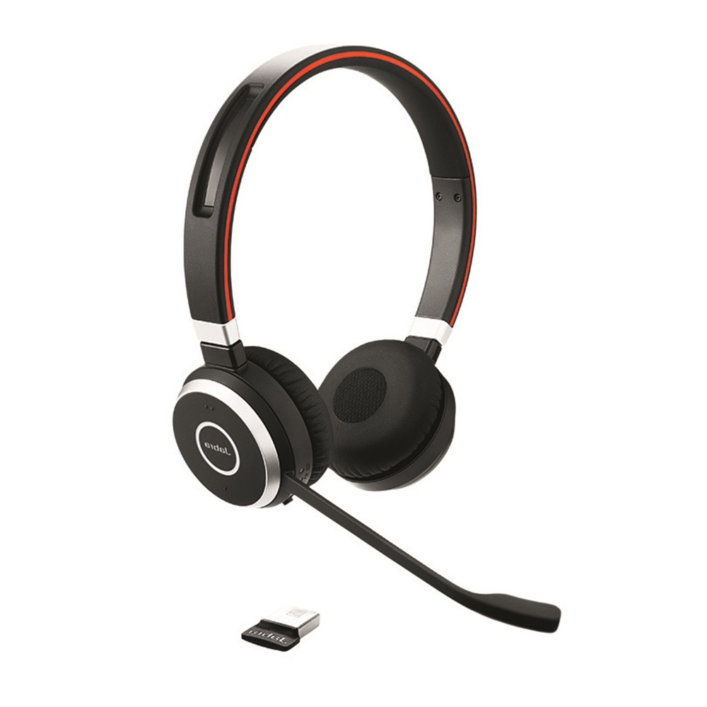 Jabra Evolve 75 Ms Duo Wireless Bluetooth Headset: Video: New USB Headset Series Jabra Evolve