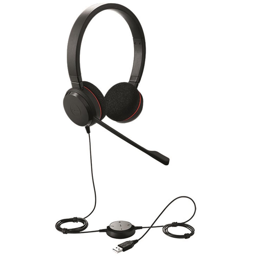 2749be3f4c6 Jabra Evolve 20 MS Stereo USB Headset | Optimized for Microsoft ...
