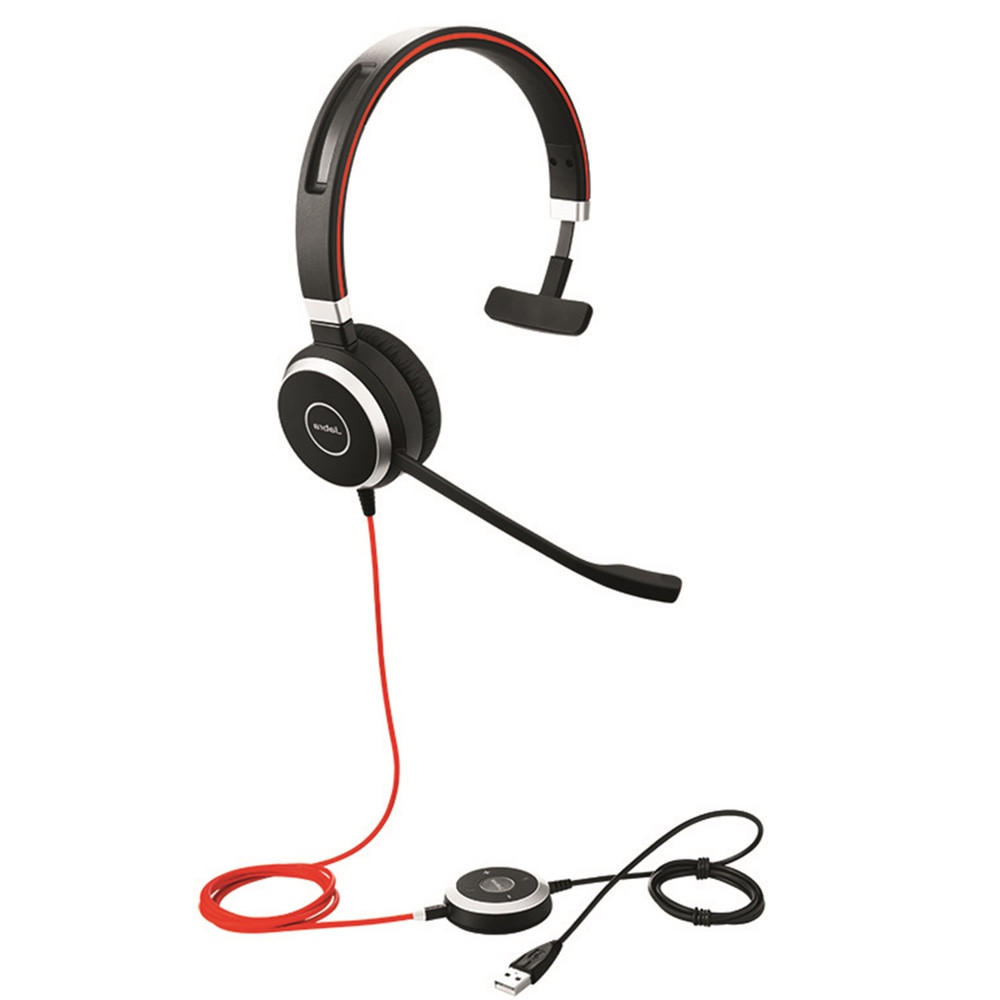 d1d865c3c98 Jabra Evolve 40 UC Mono USB Headset w/ Integrated Busy Indicator |  Certified for Unified Communications, VoIP softphones, mobile phones and  tablets ...