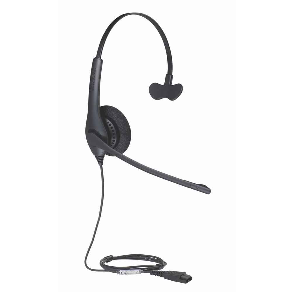 Jabra BIZ 1520 Mono Headset, 1513-0157 | For Nortel, Polycom, Cisco, Mitel,  Avaya, ShoreTel and other business phones | Requires Adapter