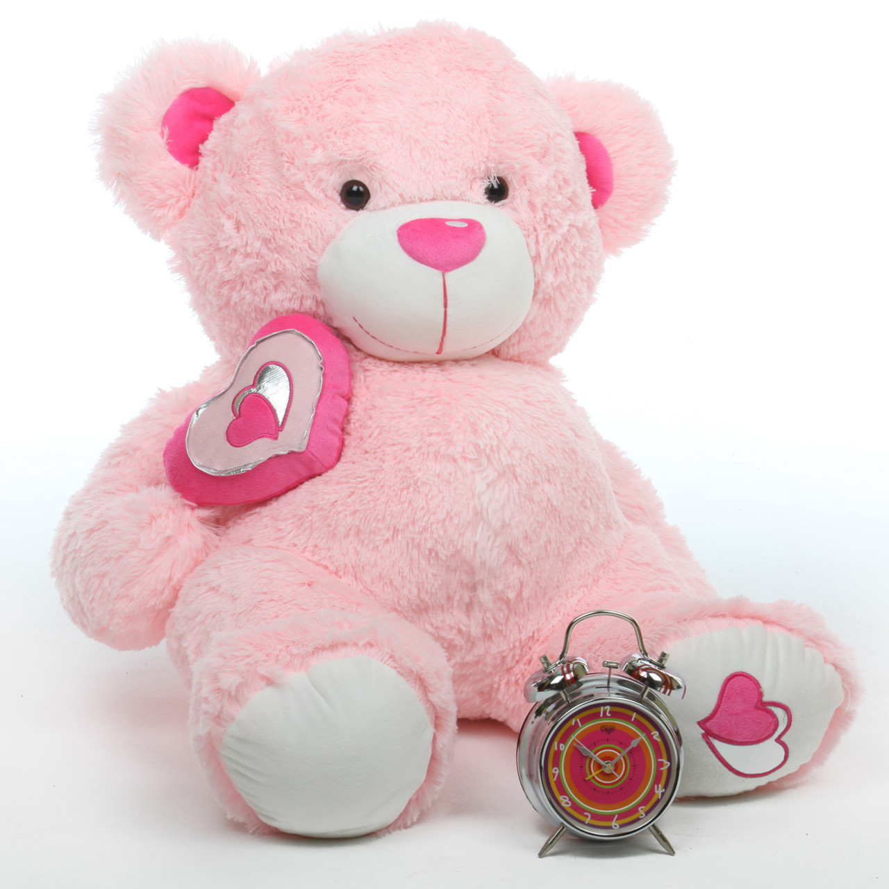 Cutie Pie Big Love 30 Pink Big Stuffed Teddy Bear Giant