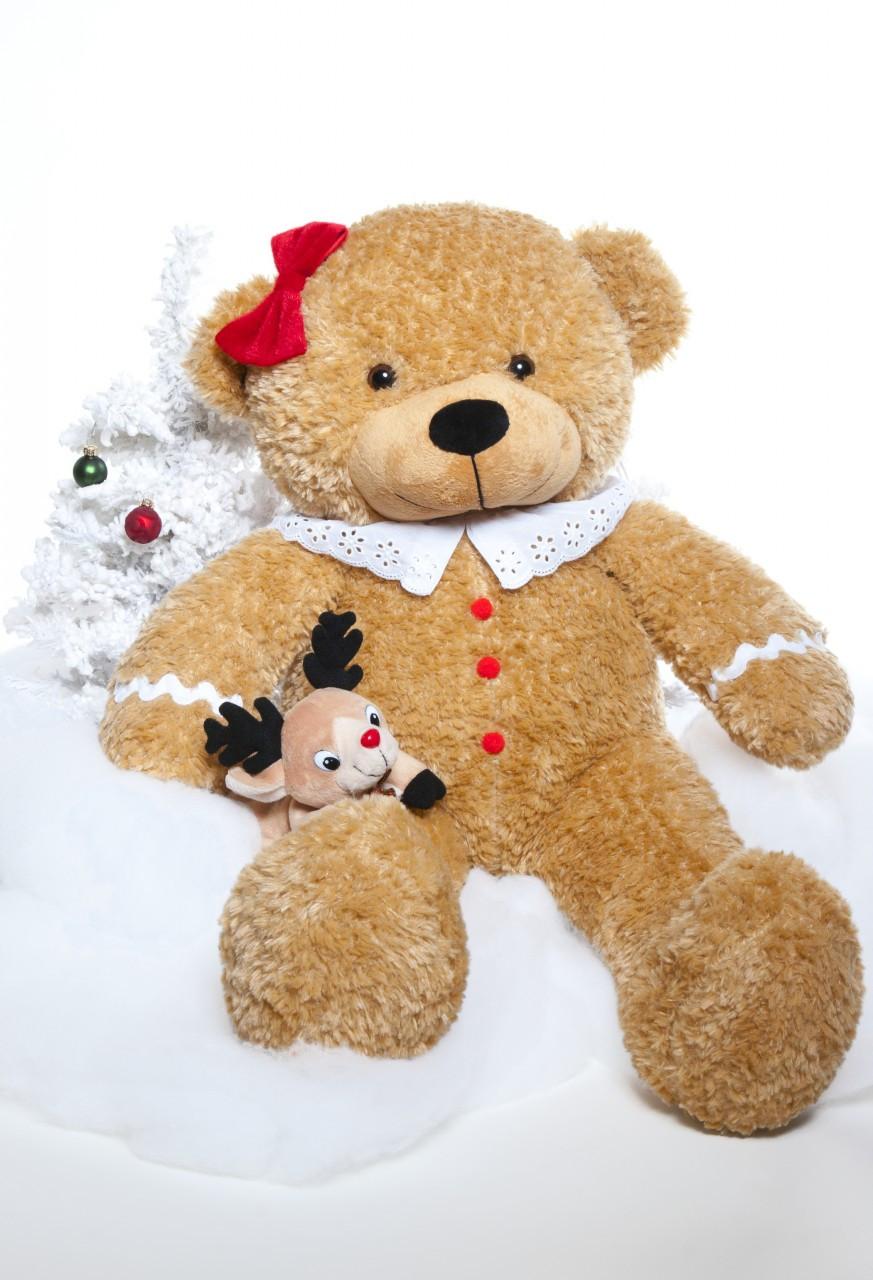 Sugar Gingerbread Cuddles 24 inch Soft and Sweet Christmas Teddy ...