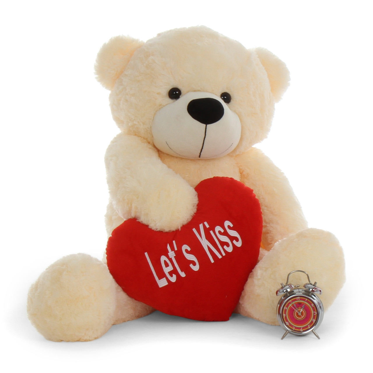 4ft Life Size Teddy Bear For Valentine's Day Cream Cozy