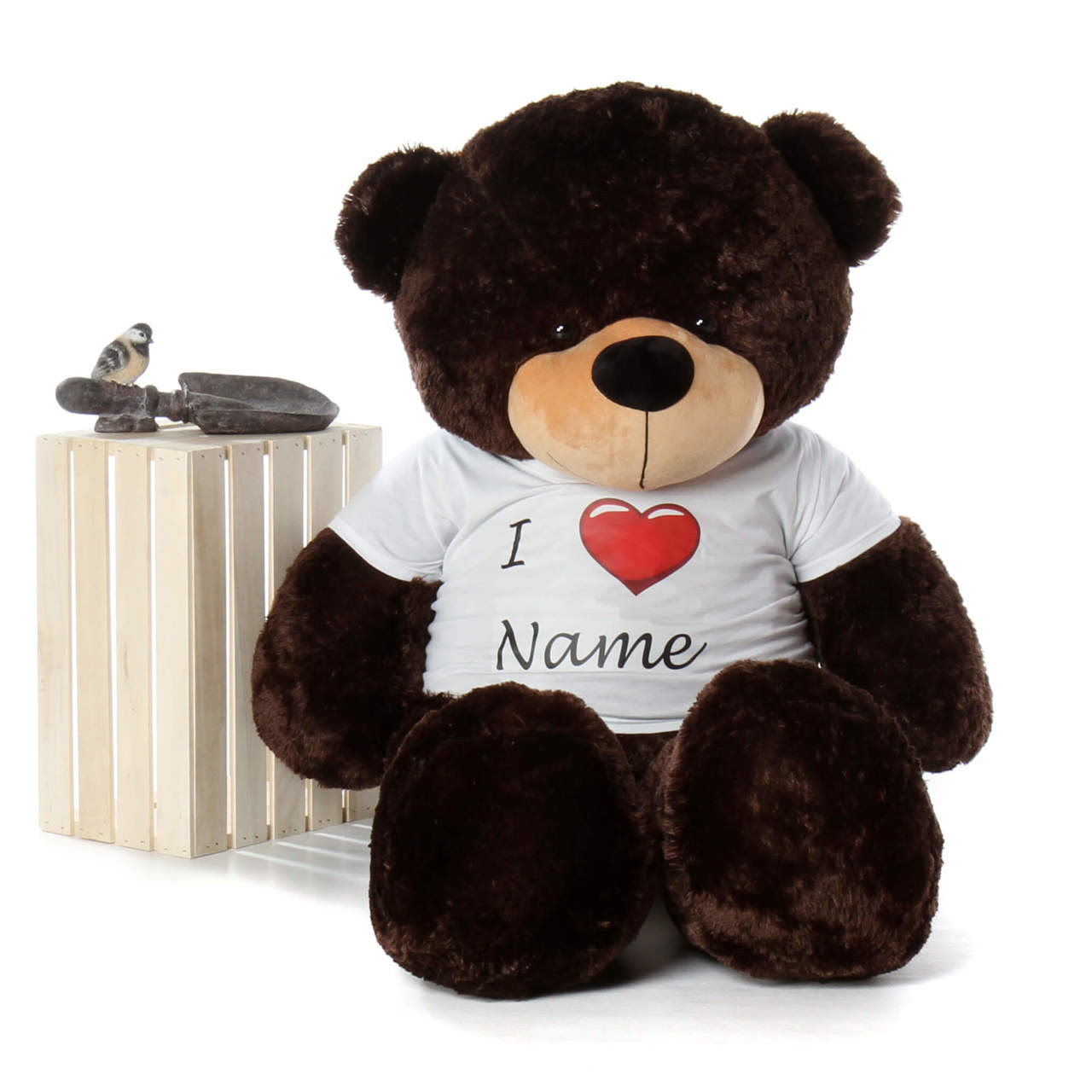 Life Size 5ft Personalized Valentine's Day Teddy Bear