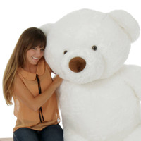 60in Giant Teddy Bear White Sprinkle Chubs (Model NOT Included)