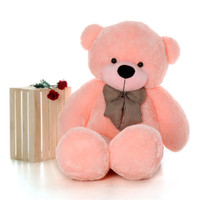 Life Size 60in Soft Pink Teddy Bear Huge  Plush Teddy Bear Toy
